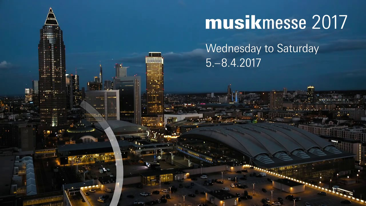 Musikmesse 2017 - Hall 11 Level 0 Booth D74