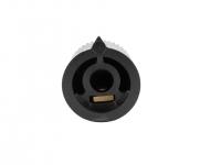 2MA-039 - Manopola per potenziometro Mod.: D-2115 Ø 21,2mm x 15,3mm, per albero da 6mm