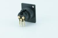 1CN-040 - Connettore XLR 3poli Mod.: MT-3PPN-21-BC